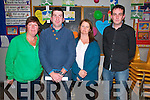 North Kerry Wind Turbine Meeting:  Pictured  the anti turbine meeting held in Dromclough  NS on Thursday night last were Nuala Horgan, Anthony Keane , Mags Faley & Cllr. Jimmy Moloney.