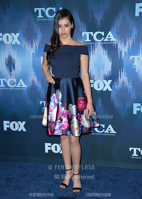 Amber Midthunder at the Fox Winter TCA 2017 All-Star Party at the Langham Huntington Hotel, Pasadena, USA 11th January  2017<br /> Picture: Paul Smith/Featureflash/SilverHub 0208 004 5359 sales@silverhubmedia.com