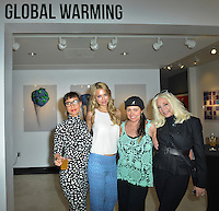 "Mouche Gallery Presents the Opening of Artist Clara Hallencreutz's Exhibit ""Picture Global Warming"" Photos by David Levin"