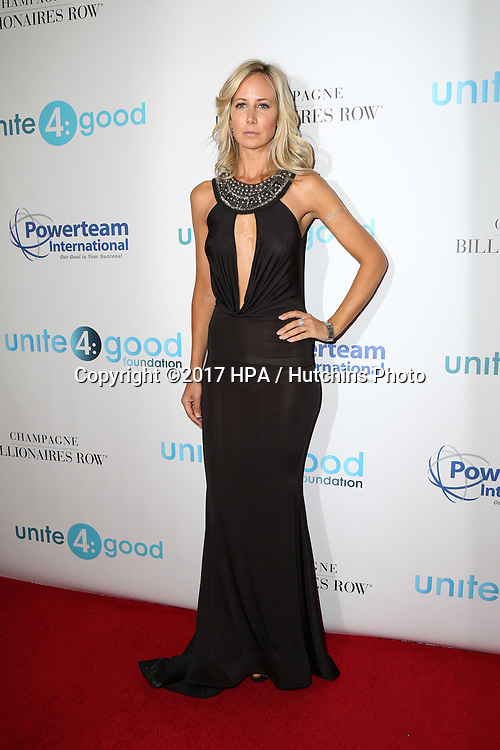 LOS ANGELES - APR 7:  Victoria Hervey at the 4th Annual unite4:humanity Gala at the Beverly Wilshire Hotel on April 7, 2017 in Beverly Hills, CA