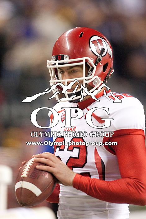 NOV 10, 2012:  Utah's Patrick Greene against Washington.  Washington defeated Utah  34-15 at CenturyLink Field in Seattle, WA...