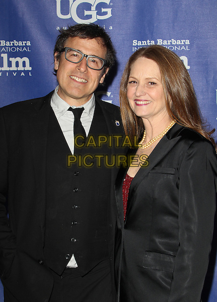 31 January 2014 - Santa Barbara, California - David O. Russell, Melissa Leo. 29th Santa Barbara International Film Festival - Outstanding Director Award to David O. Russell Held At The Voodoo Lounge at Arlington Theatre.  <br /> CAP/ADM/FS<br /> &copy;Faye Sadou/AdMedia/Capital Pictures