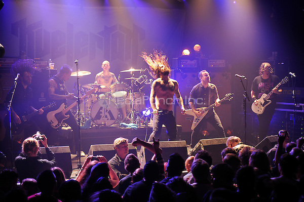 LONDON, ENGLAND - DECEMBER 5:  'Kvelertak' performing at Electric Ballroom , Camden on December 5, 2016 in London, England.<br /> CAP/MAR<br /> ©MAR/Capital Pictures /MediaPunch ***NORTH AND SOUTH AMERICAS ONLY***