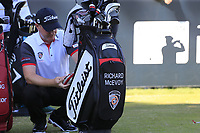Richard McEvoy (ENG) on the 11th tee during Friday's Round 2 of the 2018 Turkish Airlines Open hosted by Regnum Carya Golf &amp; Spa Resort, Antalya, Turkey. 2nd November 2018.<br /> Picture: Eoin Clarke | Golffile<br /> <br /> <br /> All photos usage must carry mandatory copyright credit (&copy; Golffile | Eoin Clarke)