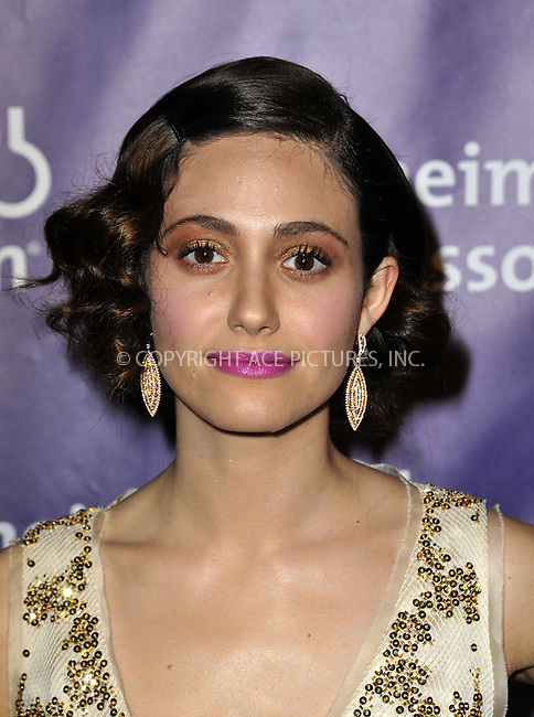 WWW.ACEPIXS.COM....March 20 2013, LA......Actress Emmy Rossum arriving at the 21st Annual 'A Night At Sardi's' to benefit the Alzheimer's Association at The Beverly Hilton Hotel on March 20, 2013 in Beverly Hills, California.....By Line: Peter West/ACE Pictures......ACE Pictures, Inc...tel: 646 769 0430..Email: info@acepixs.com..www.acepixs.com