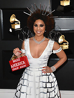 LOS ANGELES, CA - FEBRUARY 10: Joy Villa at the 61st Annual Grammy Awards at the Staples Center in Los Angeles, California on February 10, 2019. Credit: Faye Sadou/MediaPunch