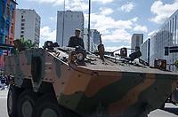 RIO DE JANEIRO, RJ, 07.09.2018 - INDEPENDENCIA-RJ - Desfile Cívico Militar que acontece na Avenida Presidente Vargas no centro Rio de Janeiro, nesta sexta-feira (7) (Foto: Vanessa Ataliba/Brazil Photo Press)