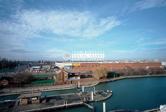 Storesafe, storage warehousing next to River Lea, Tottenham, North London