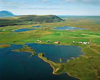 Fagranes og Fagraneskot séð til norðurs, Þingeyjarsveit áður Aðaldælahreppur / Fagranes and Fagraneskot viewing north, Thingeyjarsveit former Adaldaelahreppur.