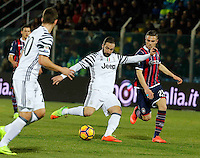 Gonzalo Higuain  during the  italian serie a soccer match,between Crotone and Juventus      at  the Scida   stadium in Crotone  Italy , February 08, 2017