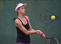 Hilversum, Netherlands, August 10, 2016, National Junior Championships, NJK, Solange Beli&euml;n (NED)<br /> Photo: Tennisimages/Henk Koster