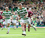 Chris Killen celebrates his goal for Celtic