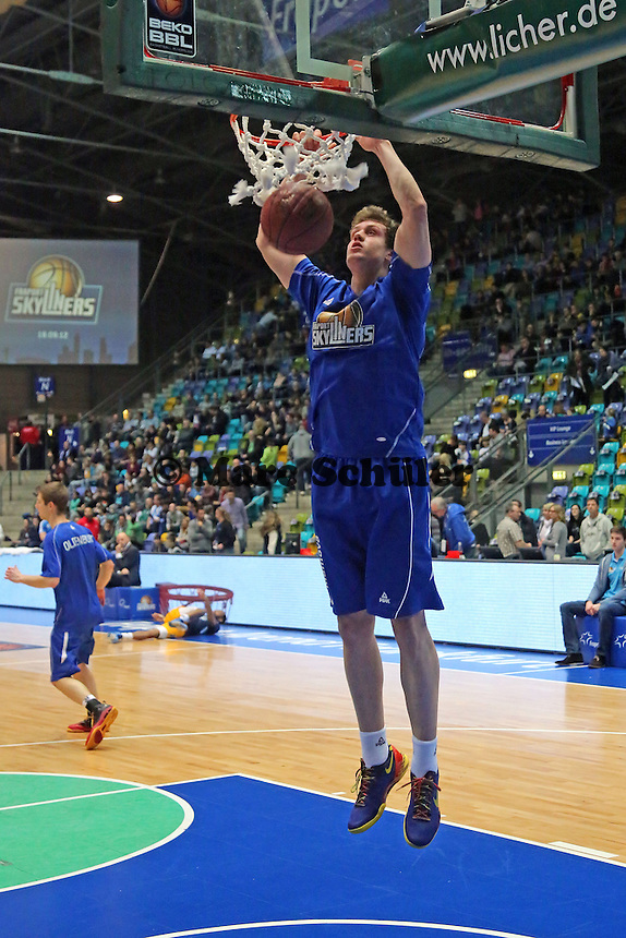 Tim Oldenburg (Skyliners) - Fraport Skyliners vs. Alba Berlin Fraport Arena Frankfurt