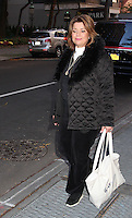 NEW YORK, NY - NOVEMBER 8: Ana Navarro, Republican strategist and political commentator, spotted leaving 'The View' in where she revealed that she voted for Hillary Clinton in the U.S, presidential election and why she chose to do so in New York, New York on November 8, 2016.  Photo Credit: Rainmaker Photo/MediaPunch