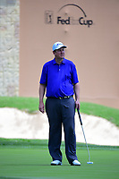 J.J. Henry (USA) reacts to barely missing his putt on 18 during round 1 of the Valero Texas Open, AT&amp;T Oaks Course, TPC San Antonio, San Antonio, Texas, USA. 4/20/2017.<br /> Picture: Golffile | Ken Murray<br /> <br /> <br /> All photo usage must carry mandatory copyright credit (&copy; Golffile | Ken Murray)
