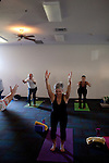 A yoga class in Sun City, Arizona, an age-restricted city of more than 40,000 retirees, December 2011.