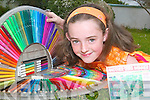 Young artist Emma Sexton (9), from Abbeyfeale who won the Sunday World colouring competition this week.   Copyright Kerry's Eye 2008