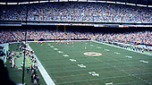 Wide view of early third quarter action during the Philadelphia Eagles against the Washington Redskins game at RFK Stadium in Washington, DC  on September 7, 1986.  The Redskins won the game 41 - 14.<br /> Credit: Ron Sachs / CNP