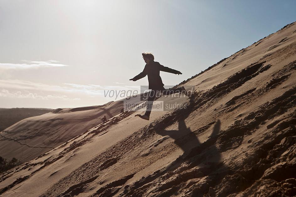 Europe/France/Aquitaine/33/Gironde/Bassin d'Arcachon/ La Teste-de-Buch: Dune du Pilat