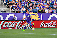 Orlando, FL - Thursday June 23, 2016: Josee Belanger during a regular season National Women's Soccer League (NWSL) match between the Orlando Pride and the Houston Dash at Camping World Stadium.