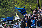 Uppsala 2014-05-07 Fotboll Superettan IK Sirius - &Ouml;stersunds FK :  <br /> Sirius supportrar V&auml;stra Sidan<br /> (Foto: Kenta J&ouml;nsson) Nyckelord:  Superettan Sirius IKS &Ouml;stersund &Ouml;FK supporter fans publik supporters