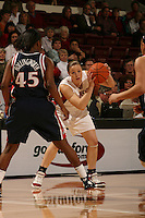 19 January 2006: Christy Titchenal during Stanford's win over the University of California Golden Bears at Maples Pavilion in Stanford, CA.