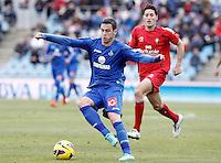Getafe's Alvaro Vazquez during La Liga match.December 15,2012. (ALTERPHOTOS/Acero) /NortePhoto