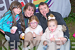 SUPPORTING: Supporting the Kerry Pride open Day in Tralee Town Park on Sunday were the Fitzgerald Family Tralee, Fildema,Isabell,Ellie, Maggie and Paul Fitzgerald.