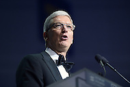 Washington, DC - October 3, 2015: Apple Inc. CEO Tim Cook speaks at the Human Rights Campaign's 19th annual National Dinner held at the Washington Convention Center in the District of Columbia, October 3, 2015. (Photo by Don Baxter/Media Images International)