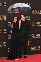 Anita Rani and Gok Wan<br /> arriving for the Olivier Awards 2019 at the Royal Albert Hall, London<br /> <br /> ©Ash Knotek  D3492  07/04/2019