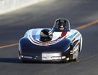 Jul 28, 2017; Sonoma, CA, USA; NHRA super gas driver Tanner Hiatt during qualifying for the Sonoma Nationals at Sonoma Raceway. Mandatory Credit: Mark J. Rebilas-USA TODAY Sports