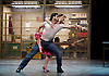 The Car Man <br /> by Matthew Bourne <br /> at Sadler's Wells, London, Great Britain <br /> press photocall<br /> 16th July 2015 <br /> <br /> Act 1 Leaving Duet with Lana and Luca <br /> <br /> Ashley Shaw as Lana and Marcelo Gomes as Luca <br /> <br /> Photograph by Elliott Franks <br /> Image licensed to Elliott Franks Photography Services