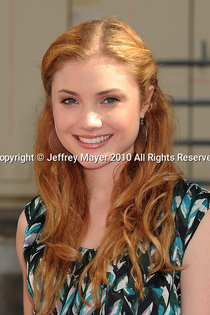 HOLLYWOOD, CA. - October 24: Skyler Samuels arrives at Variety's 4th Annual Power of Youth event at Paramount Studios on October 24, 2010 in Hollywood, California.