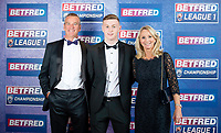 Picture by Allan McKenzie/SWpix.com - 25/09/2018 - Rugby League - Betfred Championship & League 1 Awards Dinner 2018 - The Principal Manchester- Manchester, England - Red carpet, Harry Newman.