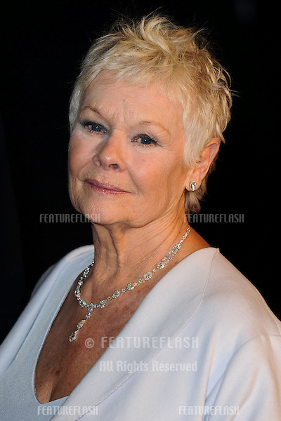 "Dame Judi Dench arriving for the ""Skyfall"" world premiere after party at the Tate Modern, London. 23/10/2012 Picture by: Steve Vas / Featureflash"