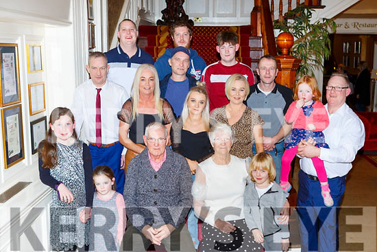 James and Eileen Buckley Marian Terrace Killarney celebrated their 50th wedding anniversary in the International Hotel on Friday night
