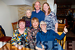 Enjoying the evening in Bella Bia on Thursday. <br /> Seated l to r: Anna O'Doherty, Eileen Barry and Ann Doyle.<br /> Back l to r: Jacinta Downing, John O'Sullivan and Siobhan O'Sullivan.
