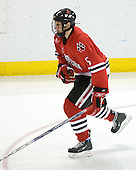 Louis Liotti (Northeastern - 5) - The Boston College Eagles defeated the visiting Northeastern University Huskies 7-1 on Friday, March 9, 2007, to win their Hockey East quarterfinals matchup in two games at Conte Forum in Chestnut Hill, Massachusetts.