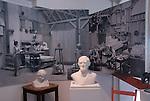 Jo Mora exhibit at Monterey Maritime Museum