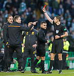 Rangers in Porto, Europa League: Michael Beale sent off by Kevin Clancy