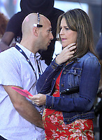 NEW YORK, NY-September 02: Matt Lauer, Savannah Gulhrie host of NBC's Today Show Citi Concert Series at Rockefeller Center in New York. NY September 02, 2016. Credit:RW/MediaPunch