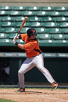 Baltimore Orioles Jerry McClanahan (13) during an instructional league game against the Minnesota Twins on September 22, 2015 at Ed Smith Stadium in Sarasota, Florida.  (Mike Janes/Four Seam Images)