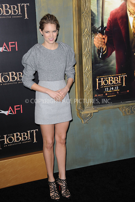 WWW.ACEPIXS.COM . . . . . .December 6, 2012...New York City....Cody Horn arrives at the US premiere of 'The Hobbit: An Unexpected Journey' at the Ziegfeld Theatre on December 6, 2012 in New York City ....Please byline: KRISTIN CALLAHAN - ACEPIXS.COM.. . . . . . ..Ace Pictures, Inc: ..tel: (212) 243 8787 or (646) 769 0430..e-mail: info@acepixs.com..web: http://www.acepixs.com .