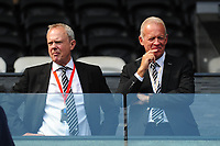 (L-R) Trevor Birch Chairman and Alan Curtis honorary club president of Swansea Cityduring the Sky Bet Championship match between Swansea City and Birmingham City at the Liberty Stadium in Swansea, Wales, UK. Sunday 25, August 2019