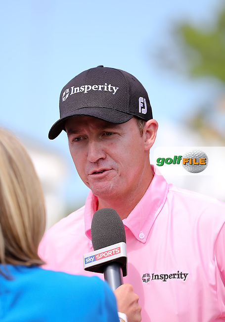 11 MAY 14 Jimmy Walker after Sunday's Final Round at The Players Championship at The TPC at Sawgrass in Ponte Vedra Beach, Florida. (photo credit : kenneth e. dennis/kendennisphoto.com)