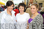 Lisa, Noreen and Sarah Goulding pictured enjoying the Gathering day of Puck Fair in Killorglin on Tuesday evening.