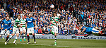 Martyn Waghorn with a diving header