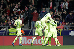 Futbol Club Barcelona's team celebrates goal during La Liga match. November 24,2018. (ALTERPHOTOS/Alconada)