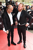 Jade Jones &amp; Leigh Francis at the TRIC Awards 2017 at the Grosvenor House Hotel, Mayfair, London, UK. <br /> 14 March  2017<br /> Picture: Steve Vas/Featureflash/SilverHub 0208 004 5359 sales@silverhubmedia.com