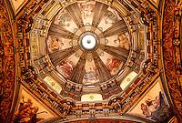 Ceiling, Candelaria Church, Centro, Rio de Janeiro, Brazil